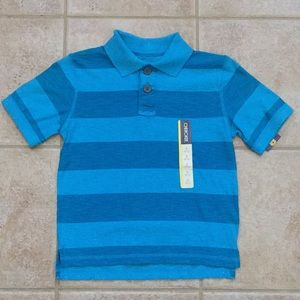 Cherokee Boys Short Sleeve Striped Polo Tee Shirt